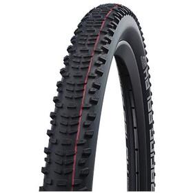"SCHWALBE Racing Ralph Super Ground Evo Folding Tyre 29x2.10"" TLE E-25 Addix Speed SnakeSkin, black"